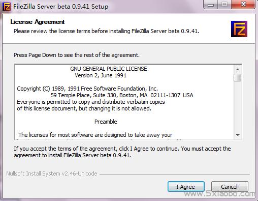 FileZilla Server下载及安装